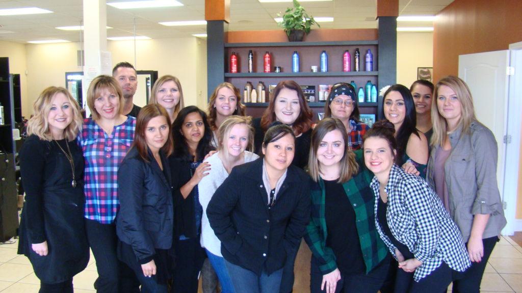 MAK Beauty Institute staff & students - blogs