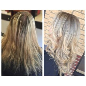 MAK Beauty - Before & After Photos - blond